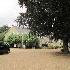 The Old School Whittlesford, now an art gallery