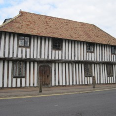 Whittlesford Guildhall as it is today - a provate residence.