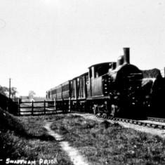 Train at Ditch Gap, Swaffham Prior