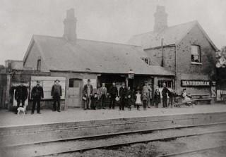 Haddenham Railway Station