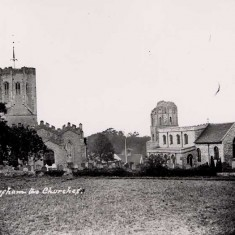 Two churches at Swaffham Prior