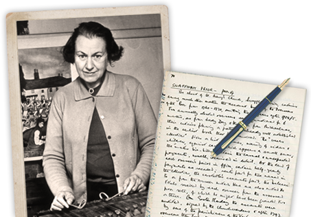 In the 1940s, museum curator Enid Porter recorded the folk traditions of Cambridgeshire in her notebooks.