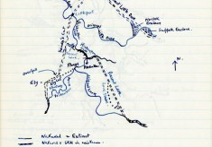 Selection of hand-drawn maps