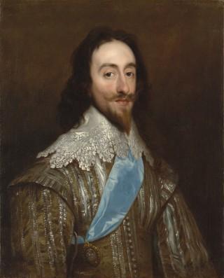 Portrait of Charles I by Daniel Mytens (Mijtens) | sv.wikipedia.org
