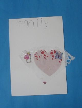 Card by Mercury class pupil | Mary Humphreys
