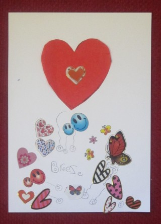 Learning about Valentine's customs at Swaffham Prior | Mary Humphreys