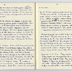 Page 2: Extract of Enid Porter's notebooks detailing the Wisbech Riots