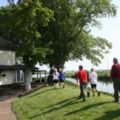 Arriving at The Ship Inn, Brandon Creek