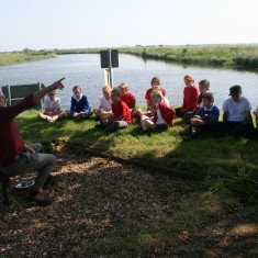 Telling the Black Sheet story where the Great and Little Ouse Rivers Meet