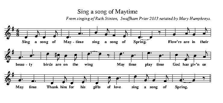 Attractive Sing A Song Of Maytime. Mary Humphreys